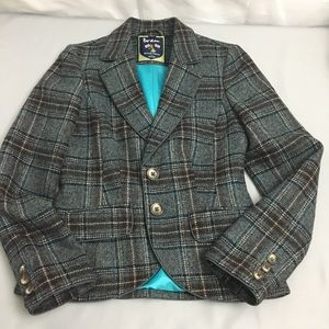 Boden British tweed by moon size 4